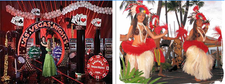 Theme parties: Choose a Theme for this years event